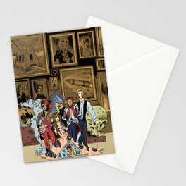 The League of Extraordinary David Bowies Stationery Cards