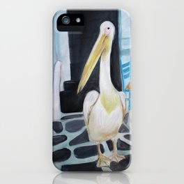 """Petros"" the mascot of Mykonos. iPhone Case"