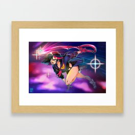 Don't Lose Your Way! Framed Art Print