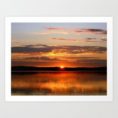 Midnight Sun Art Print