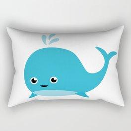 Cute Baby Whale Rectangular Pillow