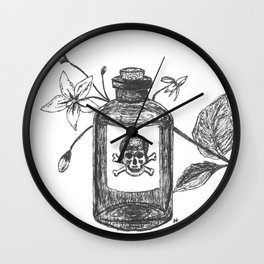Pick your poison Wall Clock