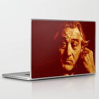 robert farkas Laptop & iPad Skins featuring master robert by noblackcolor