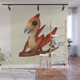 Pterodactilus Wall Mural