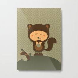 Nuts about you Metal Print