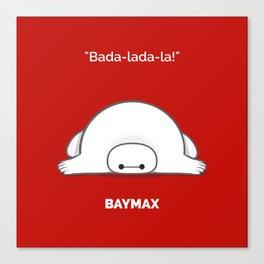 baymax Canvas Print