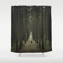 The Woods of St Olof 2 Shower Curtain