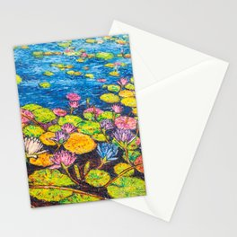 Bright Blue Stationery Cards