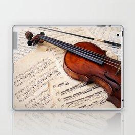 Violin music and notation Laptop & iPad Skin