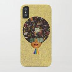 Rhythm is funky iPhone X Slim Case