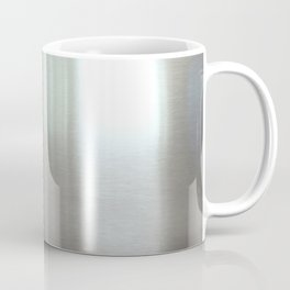 Industrial Brushed Stainless Coffee Mug
