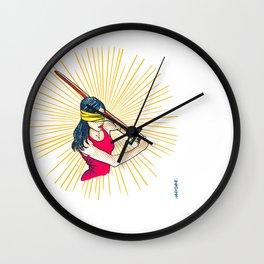 Badass Justice Wall Clock