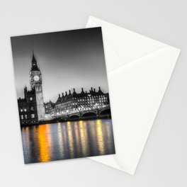 Westminster At Night Stationery Cards