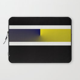 Team Colors 3...navy,yellow Laptop Sleeve