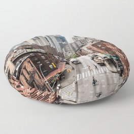 USA Photography - Chinatown In New York City Floor Pillow