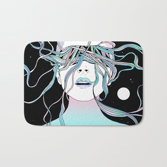 I See My Dreams and Memories Collide Bath Mat