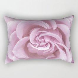 Pink Heart of a rose Roses Flowers Rectangular Pillow