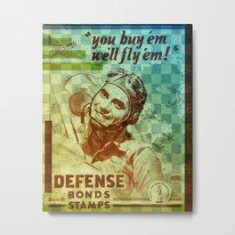 Defence Fund Metal Print