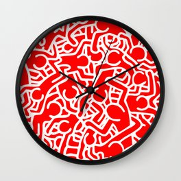 Little People Wall Clock