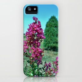 Crepe Myrtle iPhone Case