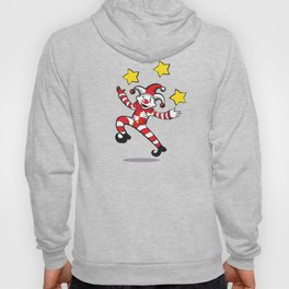 Clown juggling stars Hoody