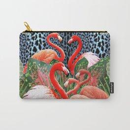 Flamingo Bada Bingo Carry-All Pouch