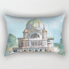 Saint Joseph's Oratory on Mount Royal Rectangular Pillow