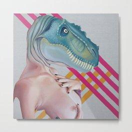 Queer Dinosaur Metal Print