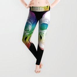 Rainbow Skull Leggings