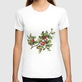 Holly Berries 20171001 by JAMFoto T-shirt