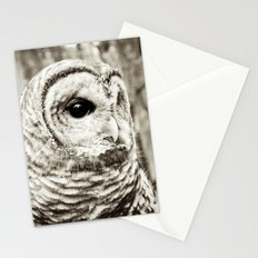 Wise Old Owl Stationery Cards