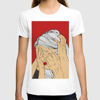 introvert T-shirts featuring Introvert 4 by Heidi Banford