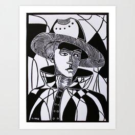 Mimetic Art Print