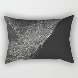 Barcelona dark Rectangular Pillow