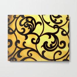 fibric pattern Metal Print