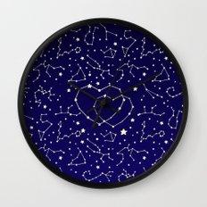 Star Lovers Wall Clock