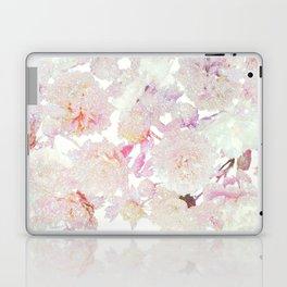 glittering pastel floral Laptop & iPad Skin