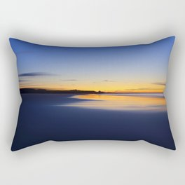 While I walked down to the beach Rectangular Pillow