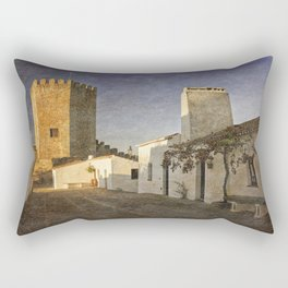 Monsaraz Castle, Portugal Rectangular Pillow