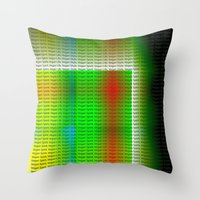 vegan Throw Pillows featuring Vegan Style by Ars Infinity - @ Roland Zulehner