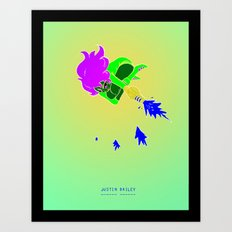 Justin Bailey  Art Print