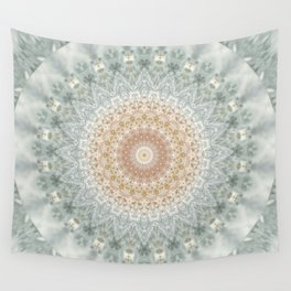Mandala Snow Queen Wall Tapestry