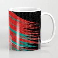 indie Mugs featuring Mosaic Indie by Sartoris ART