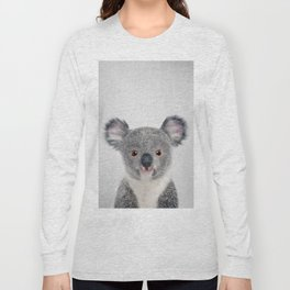 Baby Koala - Colorful Long Sleeve T-shirt