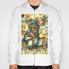 Animal_Art_Chimpanzee20161202_by_JAMFoto Hoody