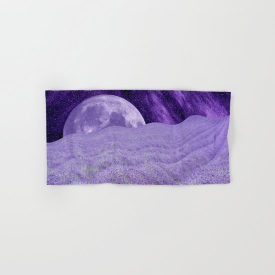 LAVENDER MOON Hand & Bath Towel