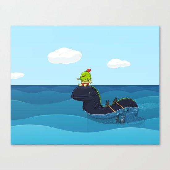 Game Hunter Canvas Print