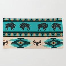 American Native Pattern No. 60 Beach Towel
