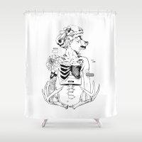 halloween Shower Curtains featuring Halloween by Cassandra Jean