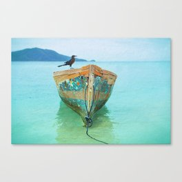 BOATI-FUL Canvas Print